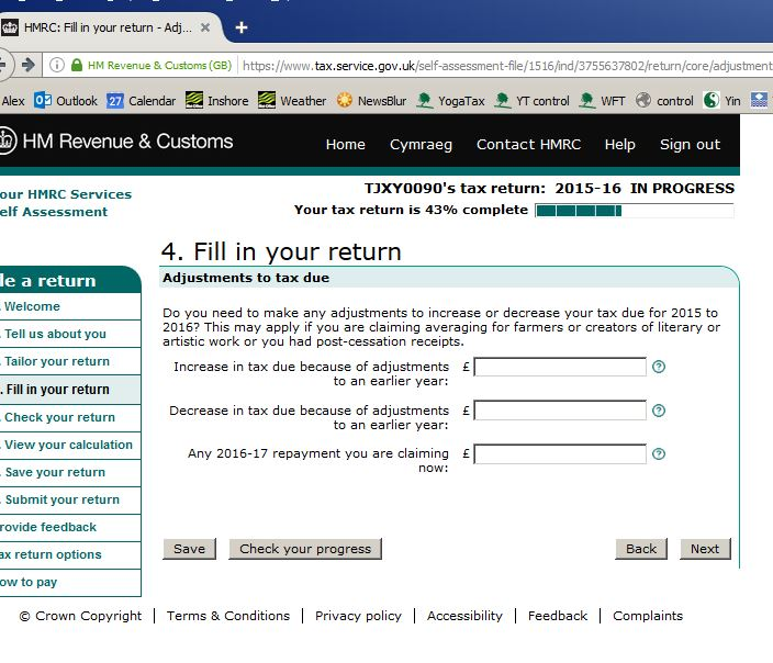 paper copy self assessment tax return If you complete a self assessment tax return: • we will usually send your repayment direct to you or your nominee's bank or building society account – please include in the authority below – the name and address of the nominee – the account name and number, if appropriate – the branch sort code • if you or your.